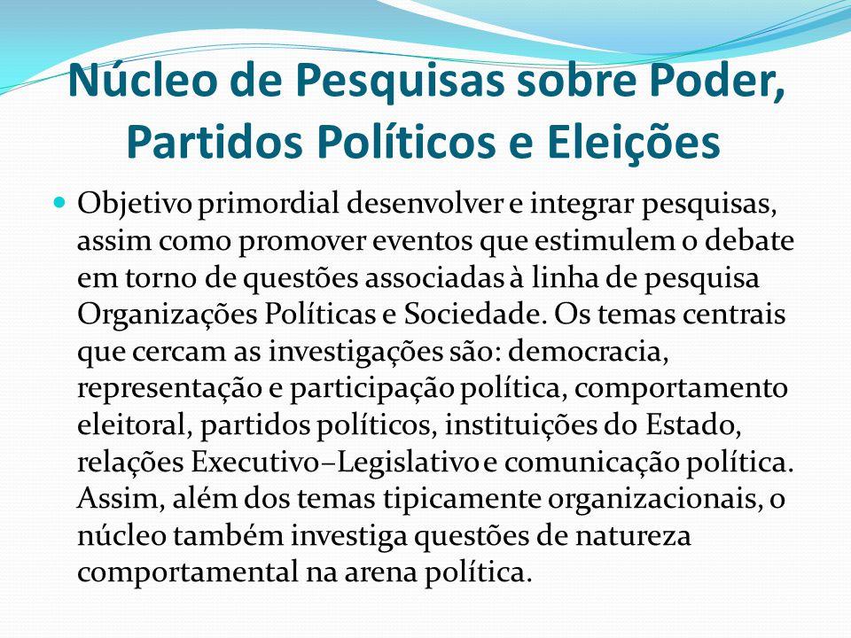 Núcleo de Pesquisas sobre Poder, Partidos Políticos e Eleições
