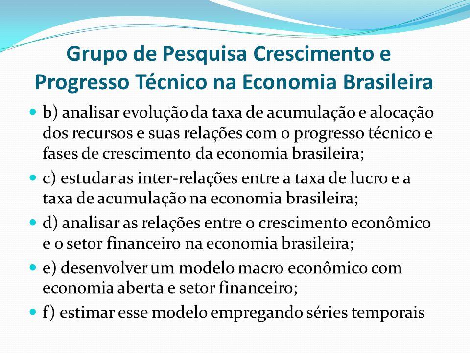 Grupo de Pesquisa Crescimento e Progresso Técnico na Economia Brasileira