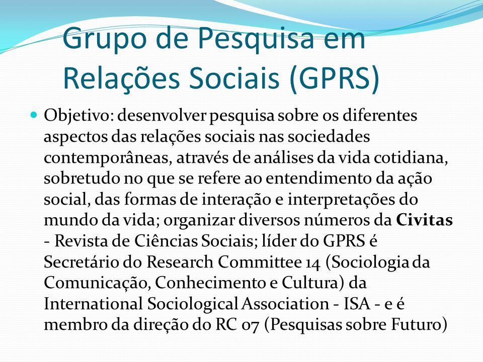 Grupo de Pesquisa em Relações Sociais (GPRS)