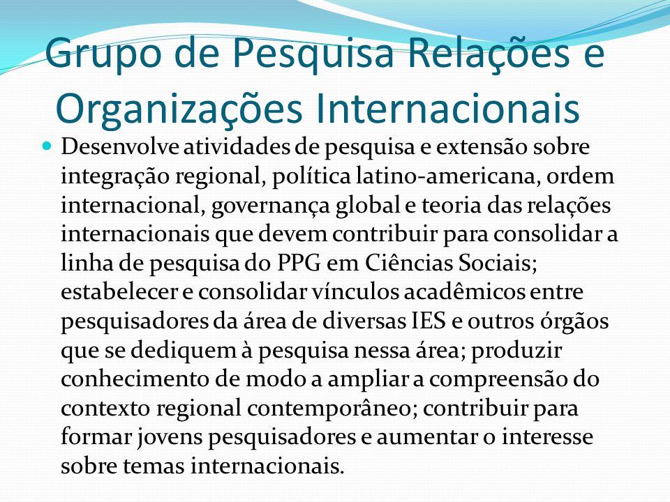 Grupo de Pesquisa Relações e Organizações Internacionais
