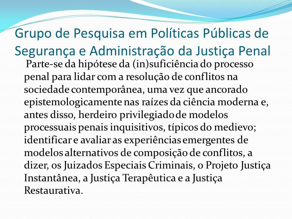 Grupo de Pesquisa em Políticas Públicas de Segurança e Administração da Justiça Penal