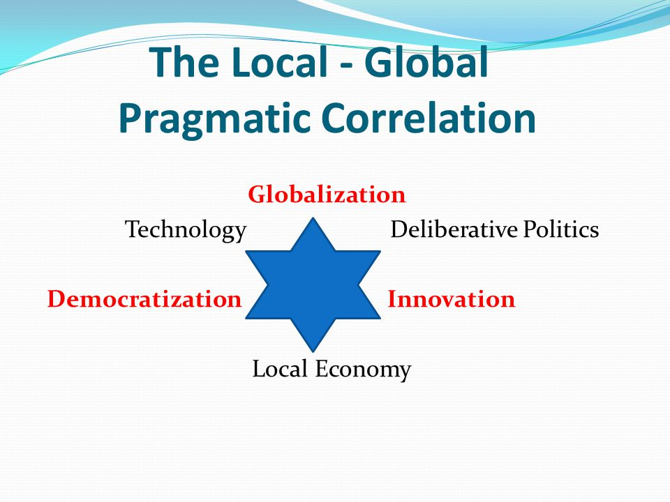 The Local - Global Pragmatic Correlation