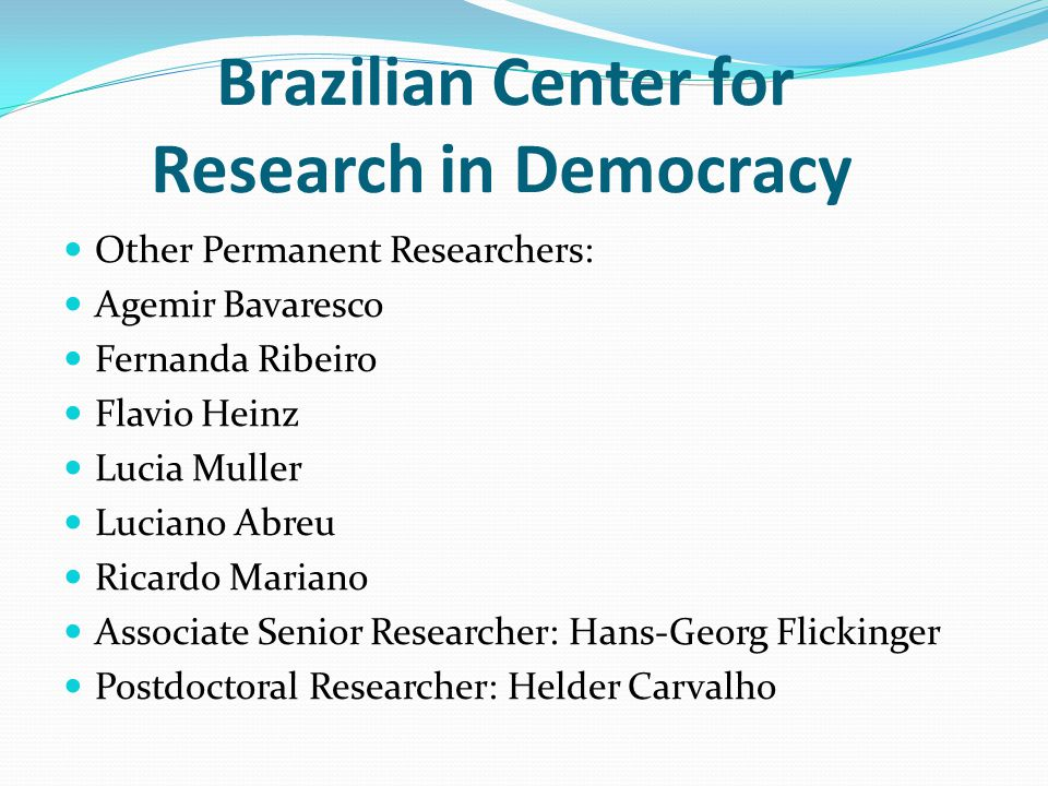 Brazilian Center for Research in Democracy