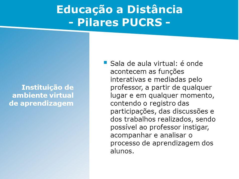 Educação a Distância - Pilares PUCRS -
