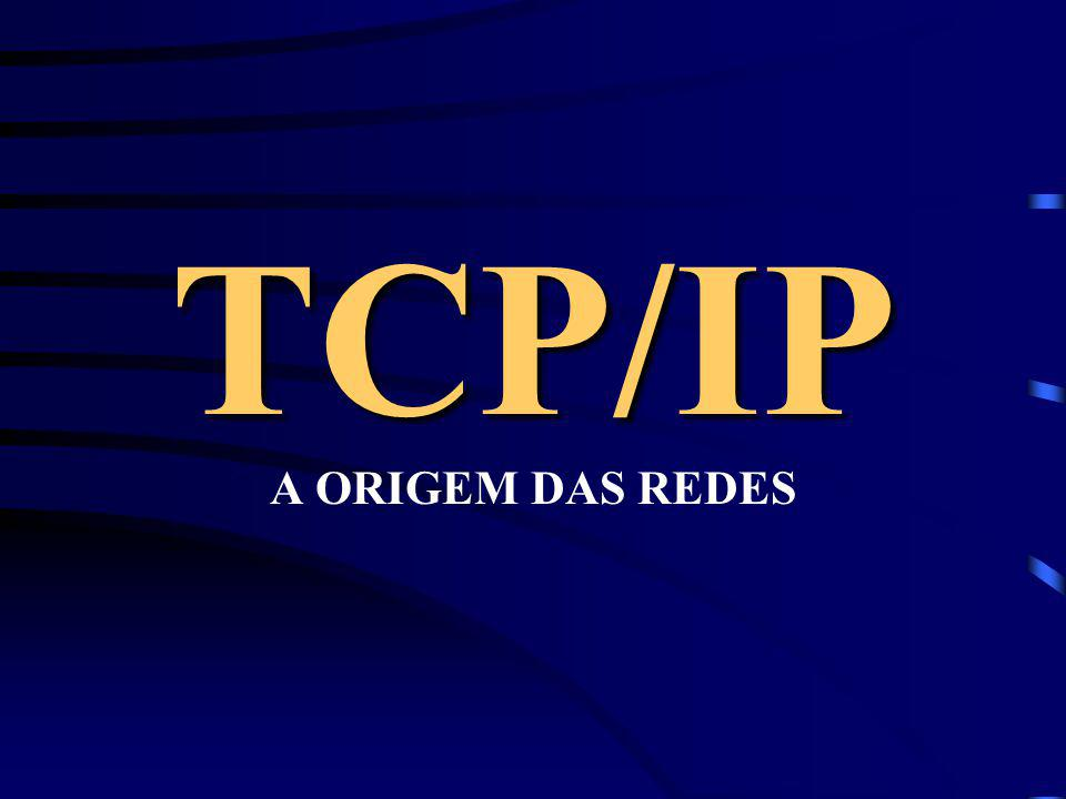 TCP/IP A ORIGEM DAS REDES