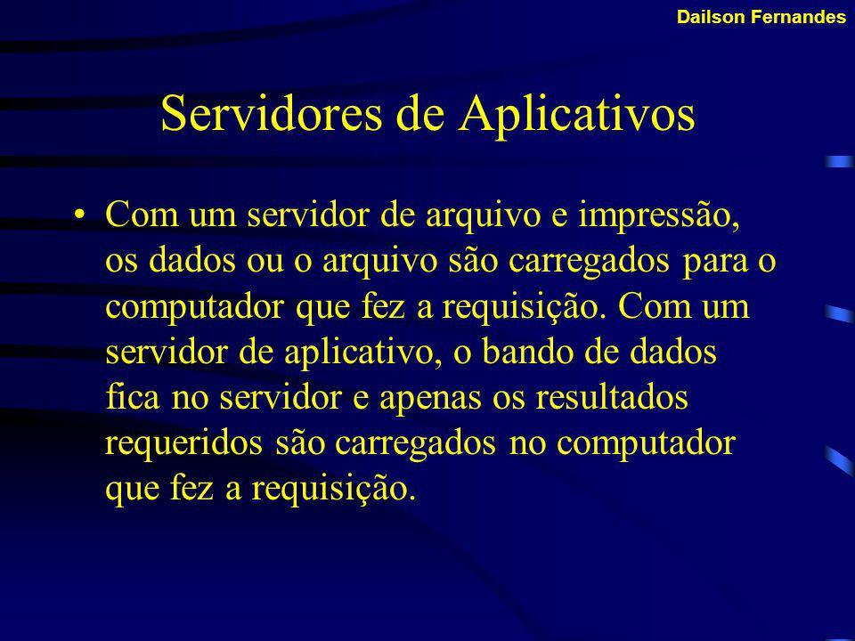 Servidores de Aplicativos