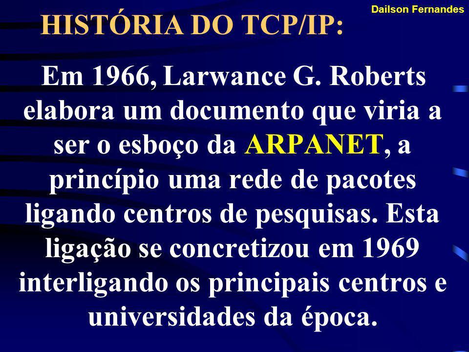 HISTÓRIA DO TCP/IP: