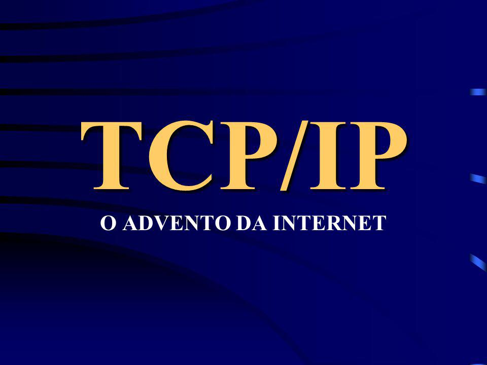 TCP/IP O ADVENTO DA INTERNET