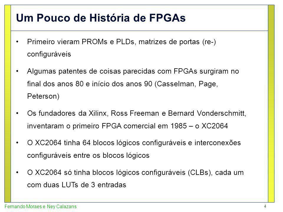 Um Pouco de História de FPGAs