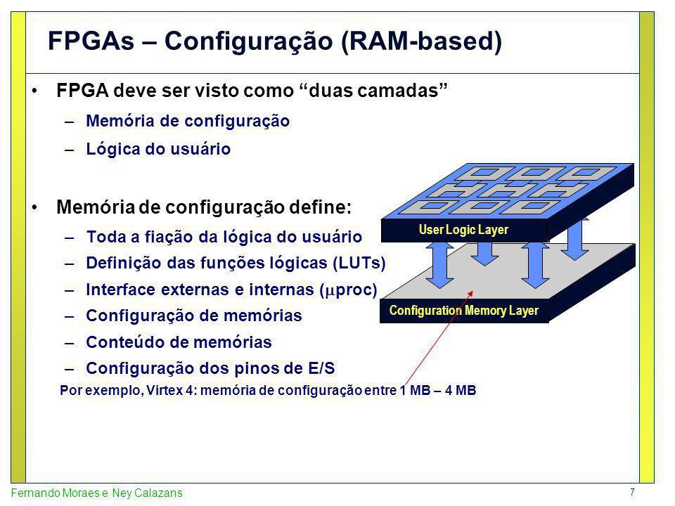 FPGAs – Configuração (RAM-based)