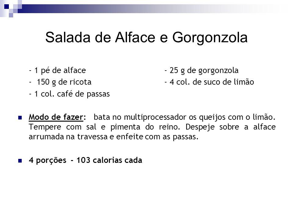 Salada de Alface e Gorgonzola