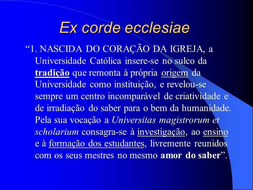 Ex corde ecclesiae