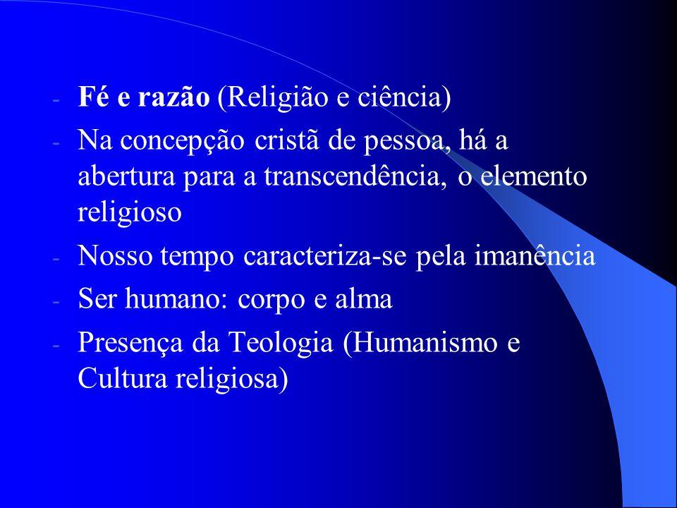 Fé e razão (Religião e ciência)