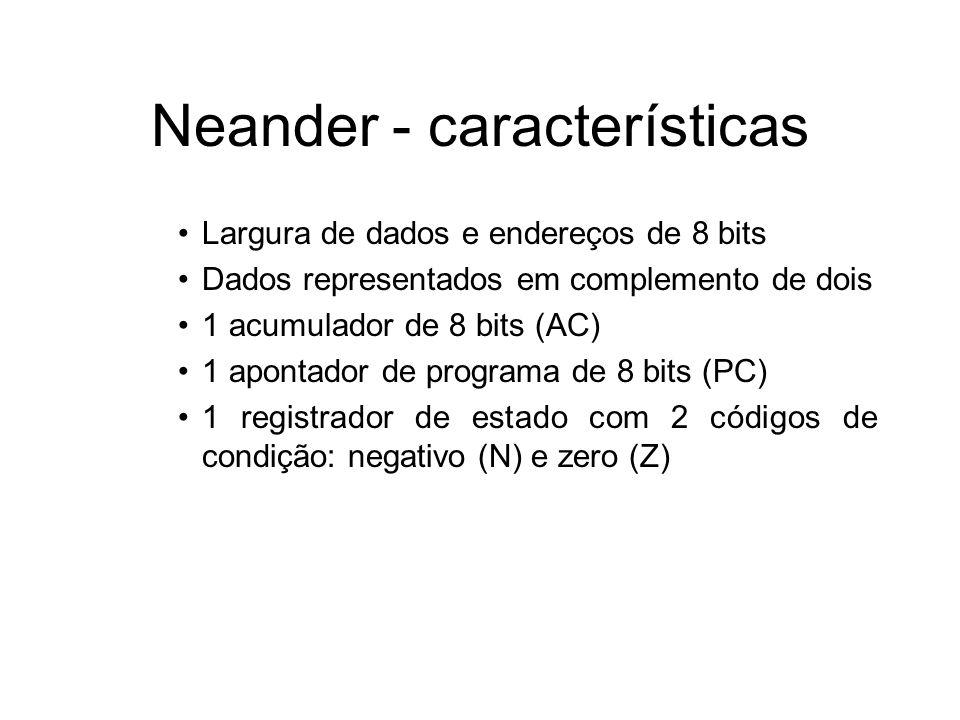 Neander - características