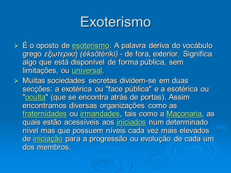 Exoterismo