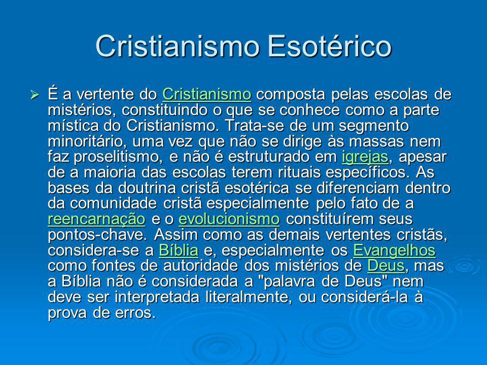 Cristianismo Esotérico