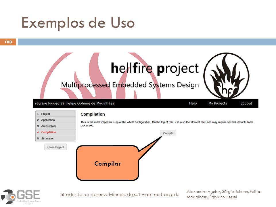 Exemplos de Uso Compilar