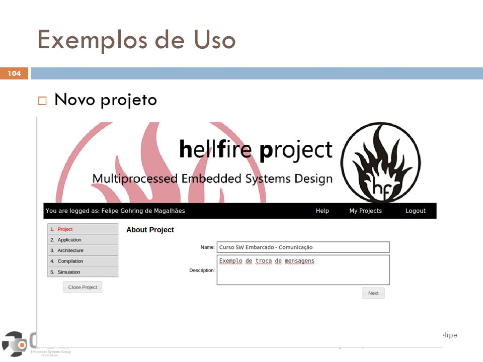 Exemplos de Uso Novo projeto