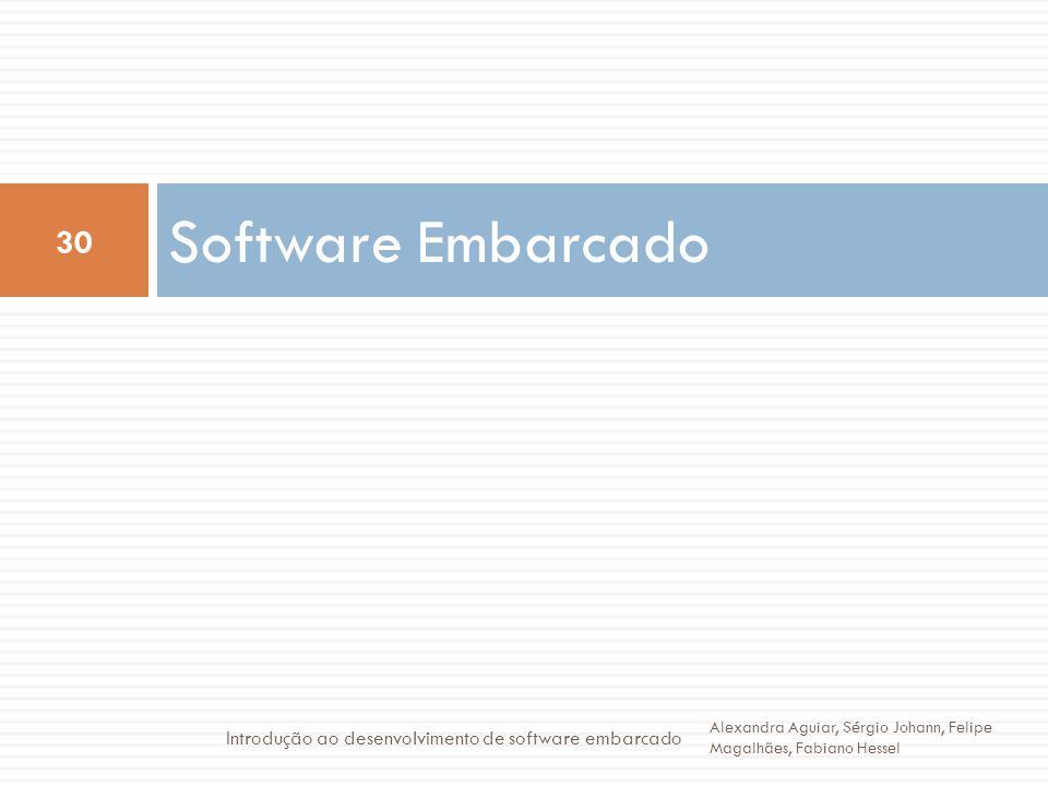 Software Embarcado Introdução ao desenvolvimento de software embarcado