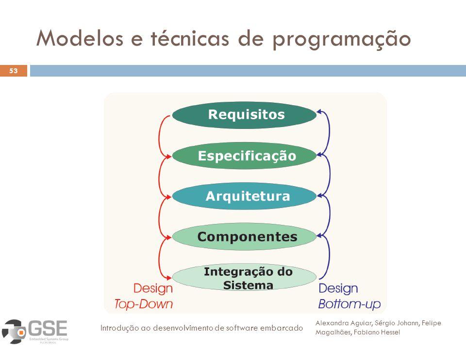 Modelos e técnicas de programação