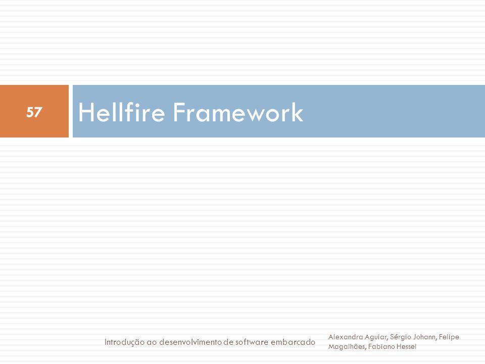 Hellfire Framework Introdução ao desenvolvimento de software embarcado