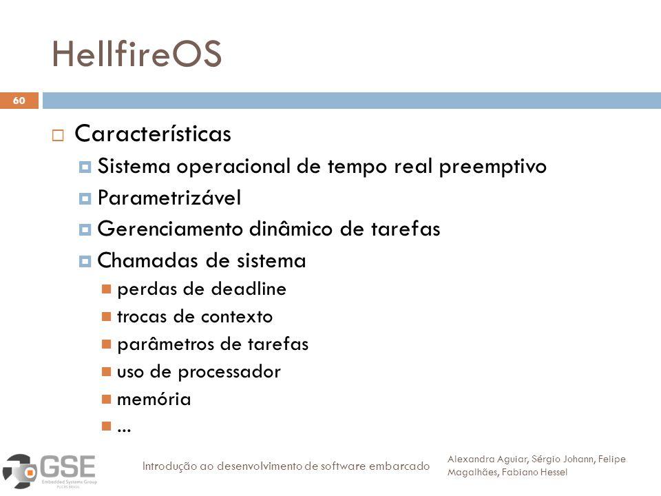 HellfireOS Características