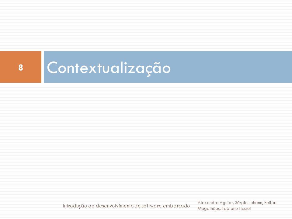 Contextualização Introdução ao desenvolvimento de software embarcado