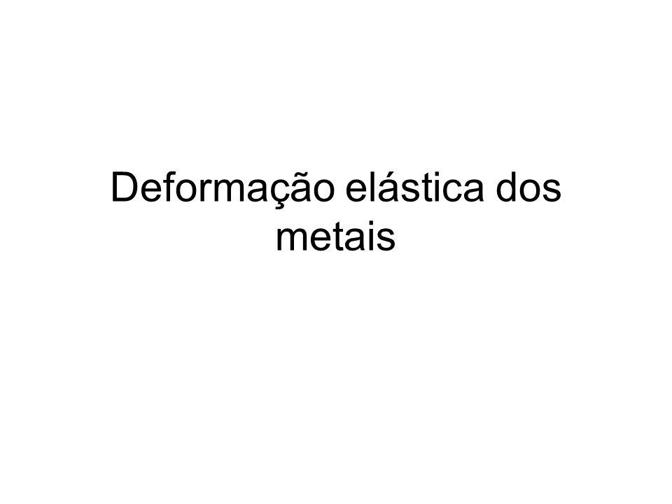 Deformação elástica dos metais