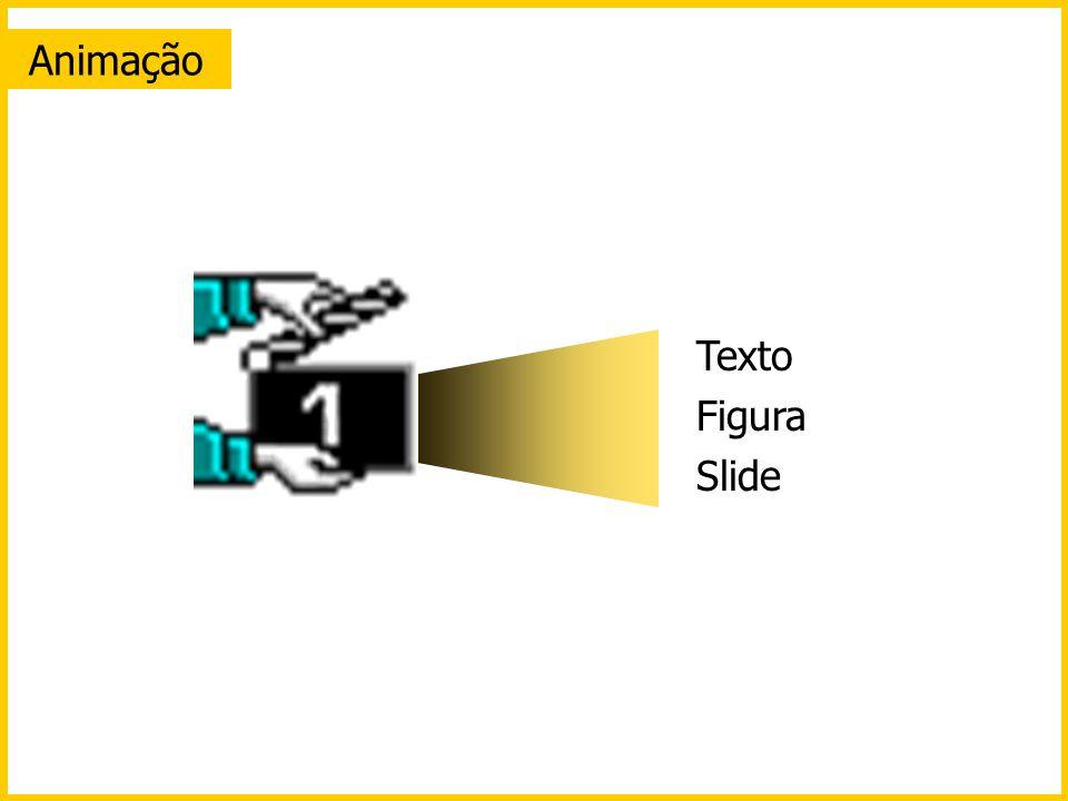 Animação Texto Figura Slide