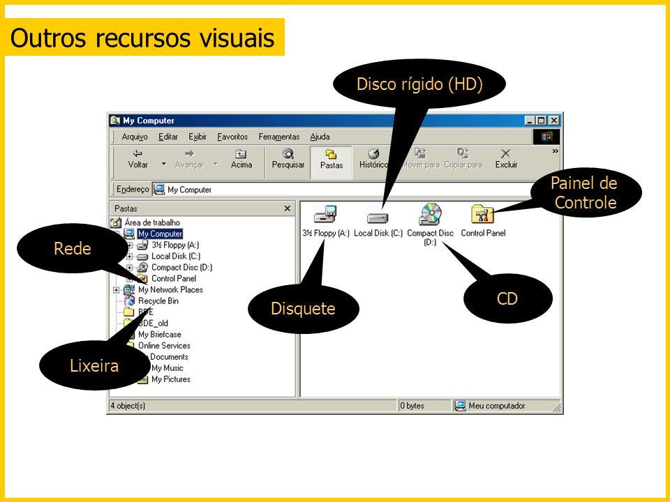 Outros recursos visuais
