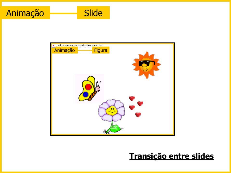 Animação Slide Transição entre slides