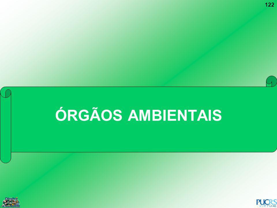 ÓRGÃOS AMBIENTAIS