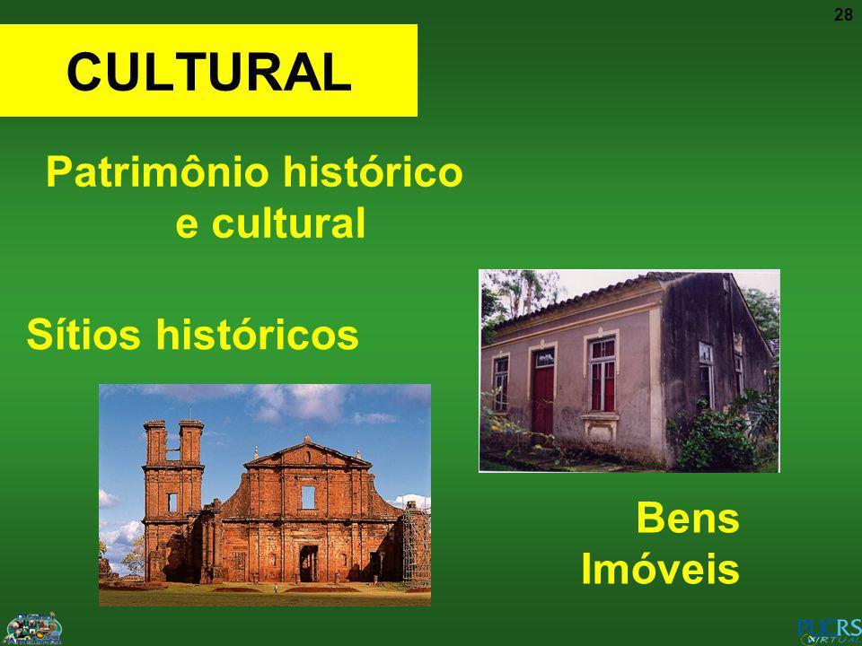 Patrimônio histórico e cultural