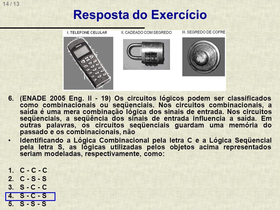 Resposta do Exercício
