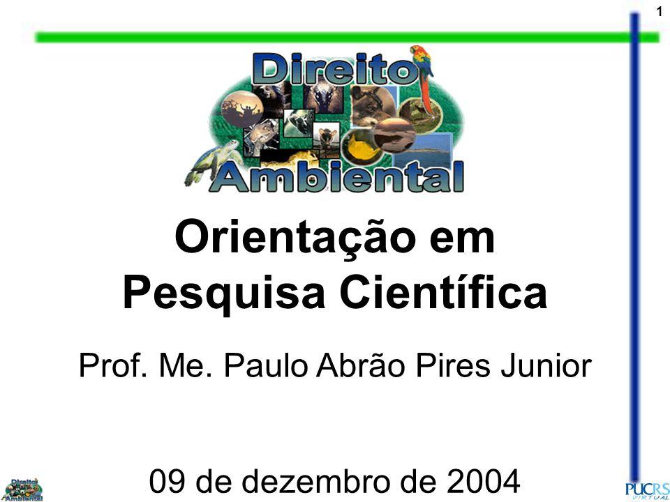 Prof. Me. Paulo Abrão Pires Junior