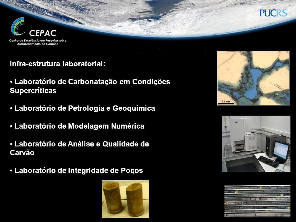 Infra-estrutura laboratorial: