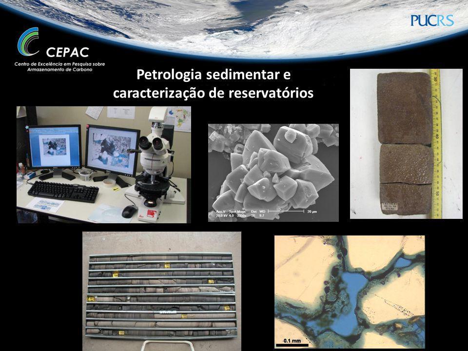 Petrologia sedimentar e caracterização de reservatórios