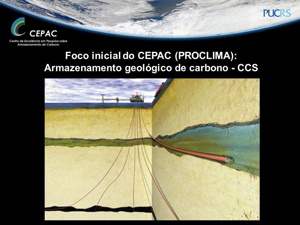 Foco inicial do CEPAC (PROCLIMA):