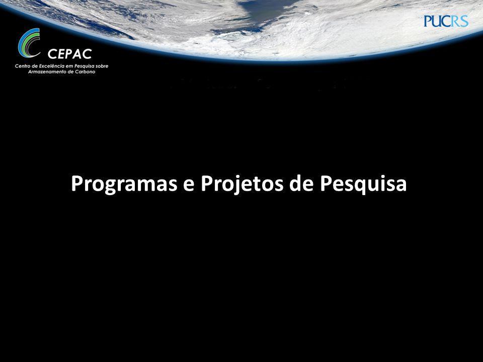 Programas e Projetos de Pesquisa