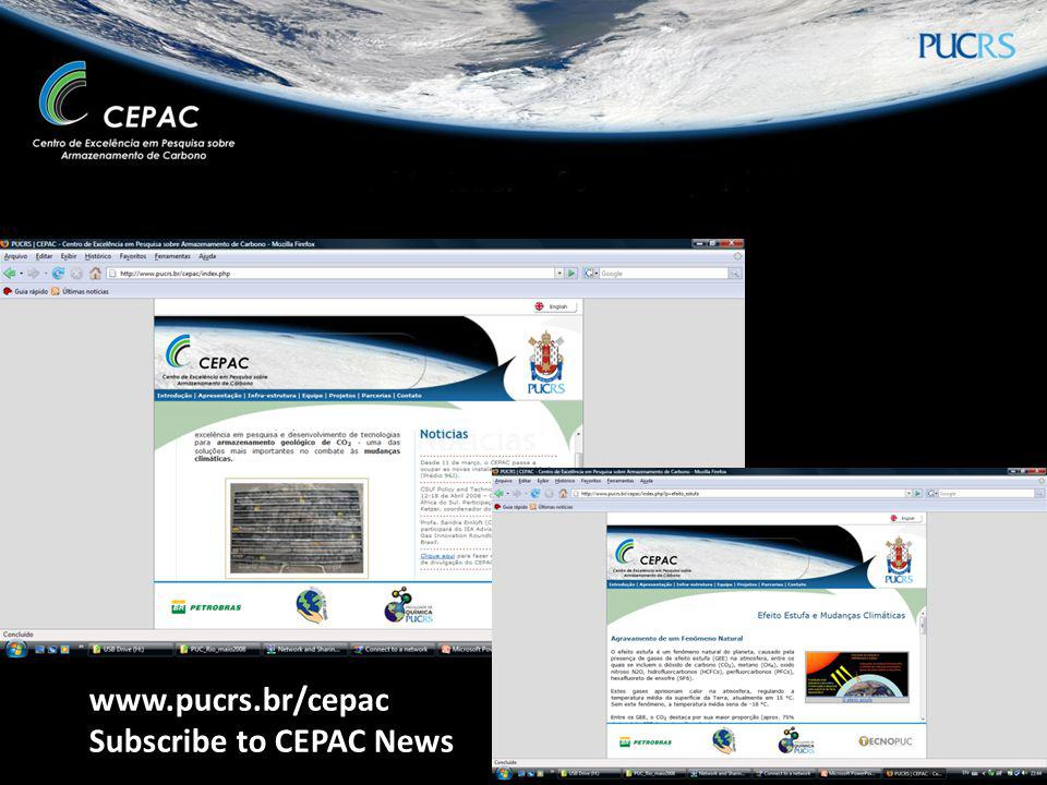www.pucrs.br/cepac Subscribe to CEPAC News