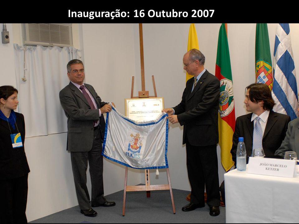 Inauguração: 16 Outubro 2007