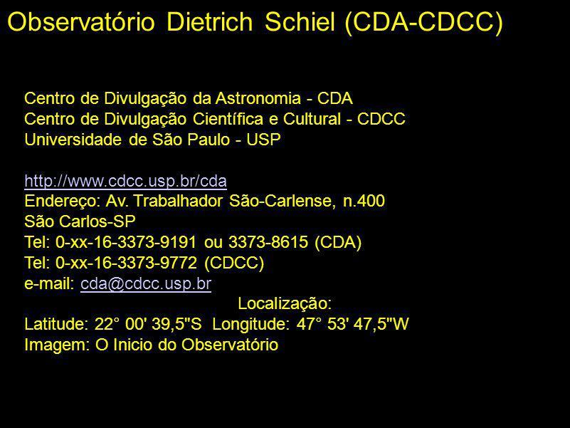 Observatório Dietrich Schiel (CDA-CDCC)