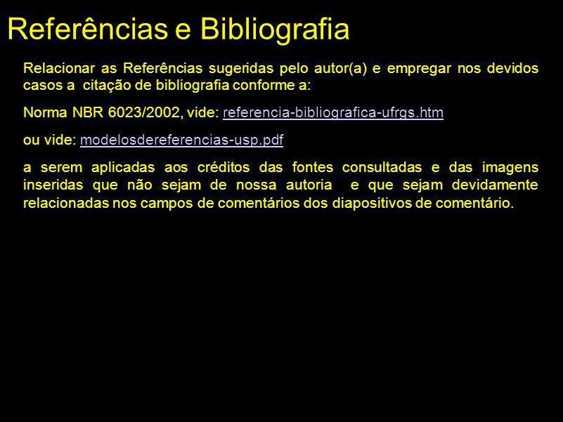 Referências e Bibliografia