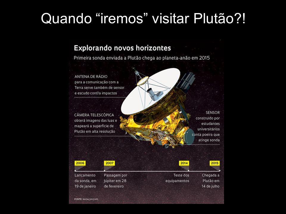 Quando iremos visitar Plutão !