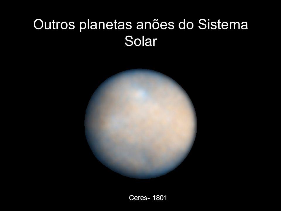 Outros planetas anões do Sistema Solar
