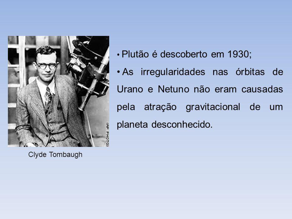 Plutão é descoberto em 1930;