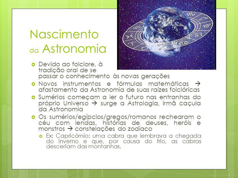 Nascimento da Astronomia