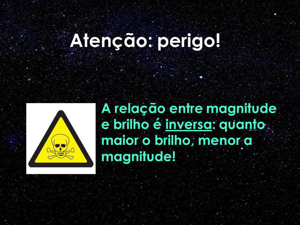 Atenção: perigo.