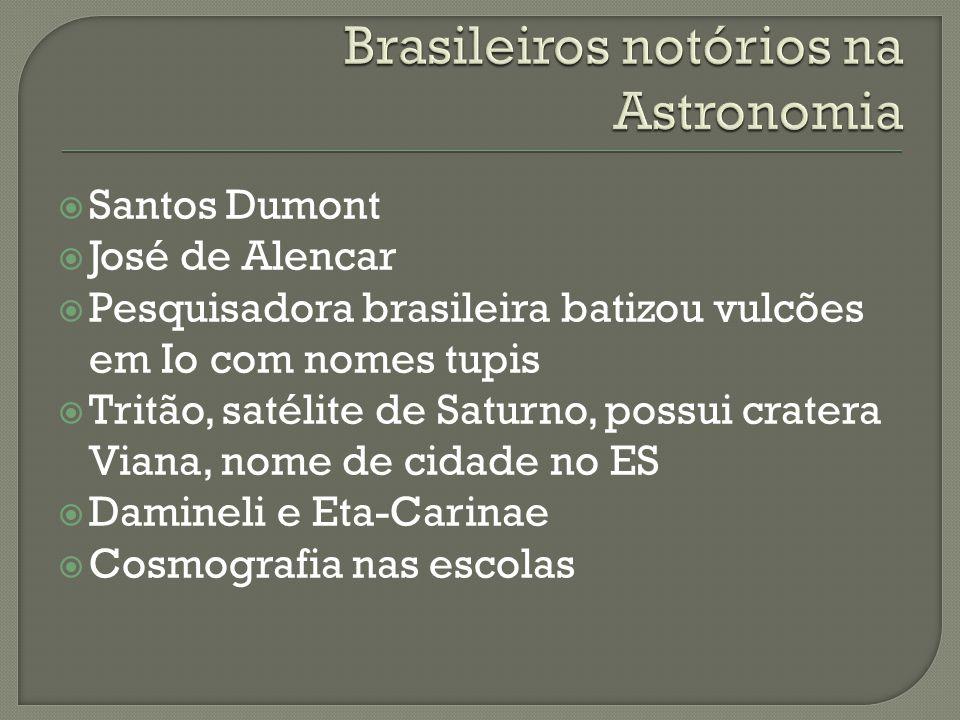 Brasileiros notórios na Astronomia
