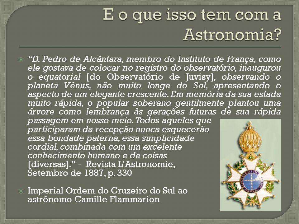 E o que isso tem com a Astronomia